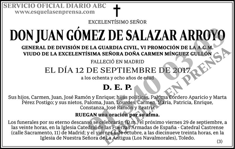Juan Gómez de Salazar Arroyo